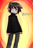 Karkat Is a doofus by ExclusiviTea