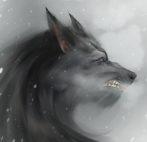 Werewolf Painterly Practice by tandemonium