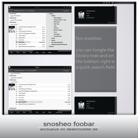 snosheo foobar by dmone by DM-moinmoin