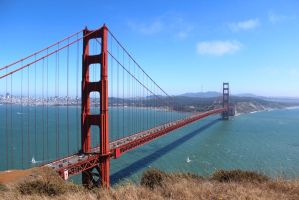 Classic Golden Gate by AtomicBrownie