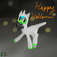 Happy Halloween by RadioactiveSkunk