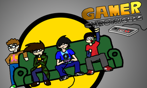 Gamer Chronicles Poster by ShakerSilver
