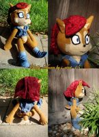 Princess Sally Doll by theOrangeSunflower