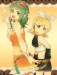 GUMI and Rin by grkoch