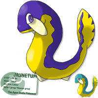 Yellow bellied serpent by G-FauxPokemon