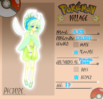 Poke-Village . Application by hunibee