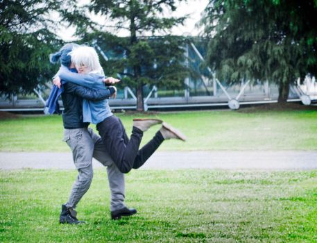 Shion And Nezumi Cosplay - Back Into Your Arms by DakunCosplay