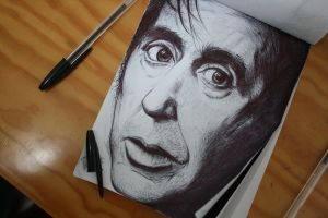 Pacino by JamesFerrara