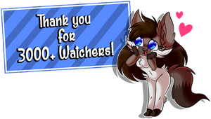 Special 3.000 Watchers by Amanddica