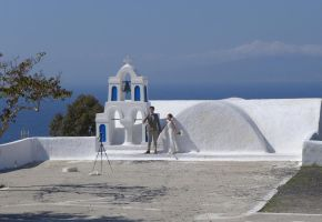 Another Santorini Wedding by bobswin