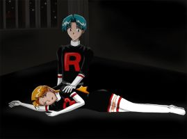 Butch and Cassidy by Team-Rocket-4eva