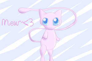 Another Mew by SkullKidGirl