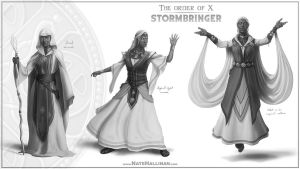 The Order of X - Stormbringer by NateHallinanArt