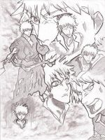 Ichigo Collage by ParaFan1
