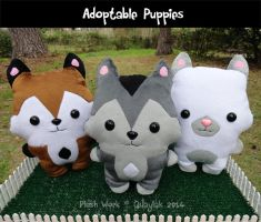 Plush - Puppy Adoptables! by Quaylak