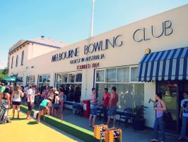 Melbourne Bowling Club by NickToh
