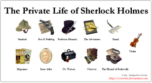 The life of Sherlock Holmes by Corwins