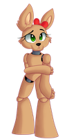 FNAF OC Request TheRoseKush by Weebleamy