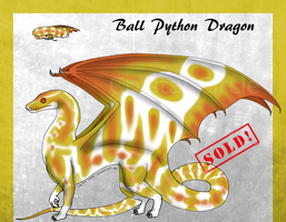 Ball Python Dragon 3 -Auction-(CLOSED) by CrystalCircle