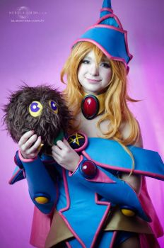Dark Magician Girl cosplay 3 by Nebulaluben