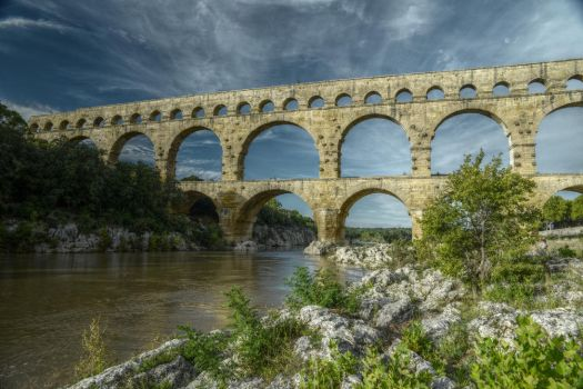 Pont du Gard by outys