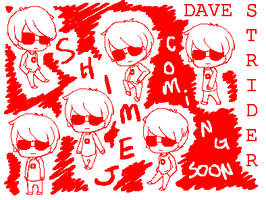 Dave Strider Shimeji COMING SOON by dontevenknow-anymore