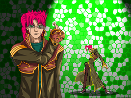 Noriaki Kakyoin the RO priest by OHerman