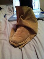 Jack Sparrow boots in the making 1 by jobiwan