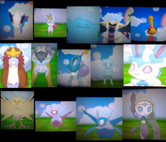 such shinies and legendaries wow by amiirou