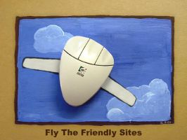 Fly The Friendly Sites by masonmouse