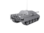 High poly Jagdpanther W.I.P Back 1 by HexanV