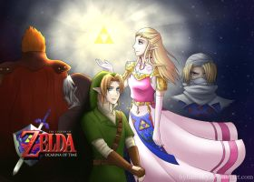 Ocarina of Time by Hylian-Sky