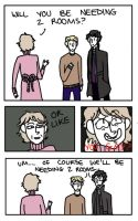 Sherlock: What If It Just Makes Them Uncomfortable by MegX78