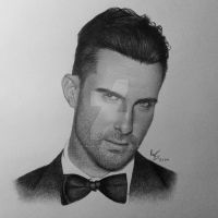Adam Levine by FromPencil2Paper