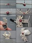 Ornate Ear Cuff Tutorial by Gailavira