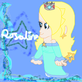 Coloured Lines Collection (Muro)- Rosalina by Daracoon911