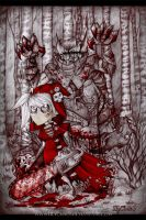 Little Red Riding Hood by LilyChaoS