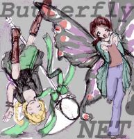 Butterfly Net by bolt-for-home