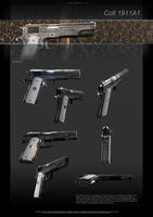 Colt1911A1 profile 1 by ABiator