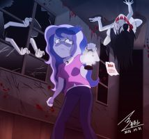 MLP Horror School by 0Bluse