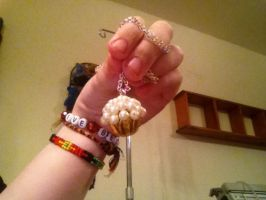Cupcake necklace. by AllHailShadow916