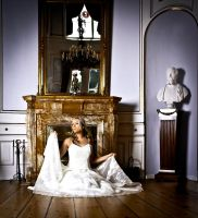 Wedding dress by Trinski