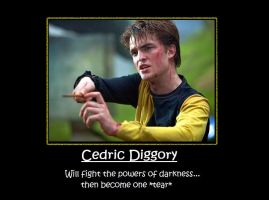 Cedric Diggory Motivational Po by Twilitdragoneye