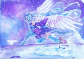 : an angel in the deeps of the sky : by dragonmary99