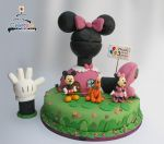 Playhouse disney Minnie Cake. by The-Nonexistent