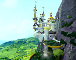 Canterlot Castle by Chritsel