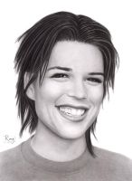 Neve Campbell by RayPelesko