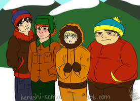South Park cause I'm bored by Kerushi-sama