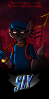 Sly Cooper: The Movie (fake poster) by DetectiveRJ