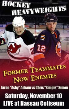 Asham vs. Simon by threedeez